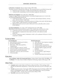 Biology Teacher Resumes Assistant Resume Objective Examples