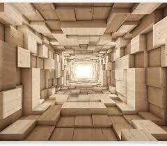 murando fototapete 3d effekt 350x256 cm vlies tapeten wandtapete moderne wanddeko design wand dekoration wohnzimmer schlafzimmer büro flur tunnel