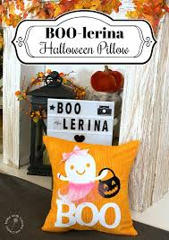 Halloween Candy Tampering 2014 by How To Make An Adorable Boo Lerina Halloween Pillow Home With