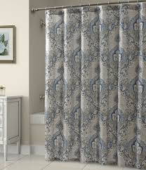 Tahari Home Curtains Navy by Medallion Shower Curtain Home Design Ideas And Pictures