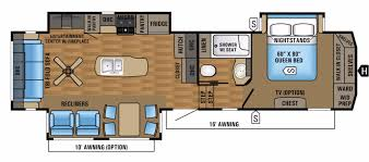 2010 Jayco 5th Wheel Floor Plans by Jayco Eagle Rvs For Sale Camping World Rv Sales