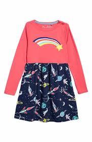 Mini Boden Hotchpotch Jersey Dress Toddler Girls Little Big