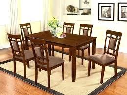 Mahogany Dining Room Set Table Solid Beautiful Furniture