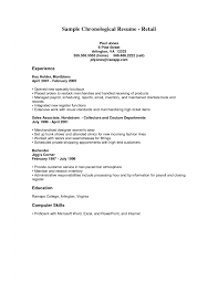 Retail Resume Template Impactful Professional Bpjaga Pl Sales Associate Level Sample