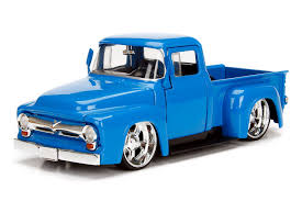 100 Just Trucks 1956 Ford F100 Pickup 124 Want Pinterest