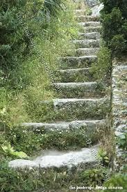 Rustic Garden Ideas Stone Landscaping Steps Nz