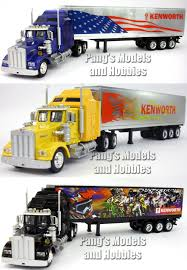 Kenworth W900 Trailer Truck Die Cast Metal 1/43 Scale Model By ... Remote Control Tractor Trailer Semi Truck Ardiafm Long Haul Trucker Newray Toys Ca Inc Scott S Custom 1 32 Scale Peterbilt 389 Diecast Model With Working 1stpix Diecast Dioramas 164 Trucks More Youtube Toy Cars Carrier Hauler For Hotwheels Matchbox Amazoncom Newray Intertional Lonestar Flatbed With Radioactive Penjoy Epes Die Cast Model Semi Truck Scale 1869678073 Mack Log Diecast Replica 132 Assorted Buffalo Road Imports Ford 1938 Ucktrailer Rea Lionel Truck European Trucksdhs Colctables Csmi Cstruction Bring World Renowned
