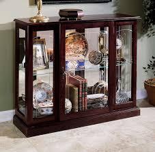 Pulaski Oak Corner Curio Cabinet by Curio Console 6705 Console
