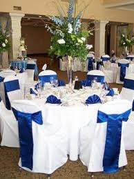Captivating Royal Blue White Wedding Decorations 47 In Rent Tables And Chairs For With