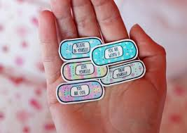 Wordsnquotes Temporary Motivational Band Aid Tattoos