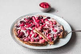 rhabarber himbeer kuchen ohne mehl glutenfrei vegan
