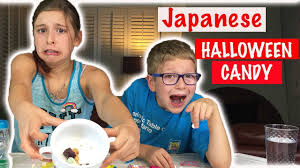 Best Halloween Candy 2017 by Tasting Japanese Halloween Candy Halloween 2017 Youtube