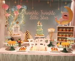 Baptism Decoration Ideas For Twins by Twinkle Twinkle Little Star Baby Shower Party Ideas Star Baby