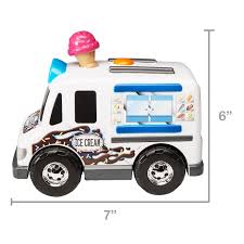 100 Toy Ice Cream Truck Adventure Force Food Motorized Vehicle New