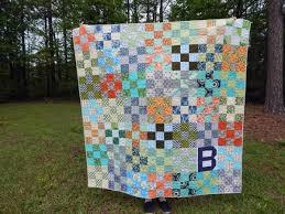 Nine Patch Quilt You choose Size and color palette