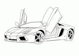 Sport Car Coloring Pages Printable