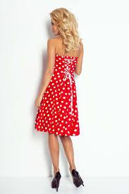 large polka dot pattern pin up style dress