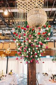 Hanging Floral Installations For A Spring Wedding