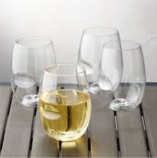 Govino Shatterproof Plastic Stemless Wine Glasses Set Of 4