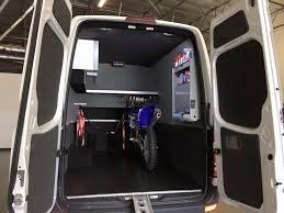 Motocross Van Conversions From Peoria Ford Commercial Fleet
