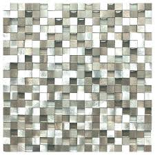 Bathroom Floor Tile Samples Sample Silver And Pewter Aluminum Square Mosaic Ceramic