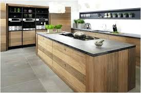 cuisine bois plan de travail noir plan de travail cuisine bois idace cuisine noir plan de travail