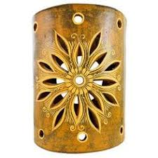 southwestern ceramic lights and ceramic wall sconces are a