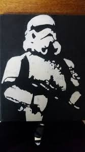 Stormtrooper Stencil Halloween by 63 Best Stencil Art Images On Pinterest Brother Brown And Drawings