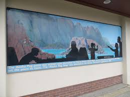 Denver Airport Murals Painted Over by Murals And More In Anchorage Northierthanthou