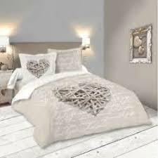 bien linge de lit style chalet montagne 10 parure housse de