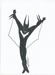 Batman Beyond Coloring Pages Imgkid The Image