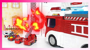 100 Pink Fire Truck Toy Pororo Transformation Fire Truck Pororo Fire Truck Turned