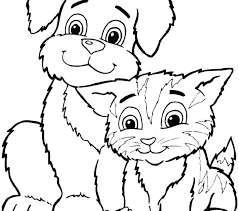 Coloring Pages Printable Animals Kids Free