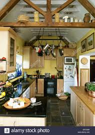 100 Cieling Beams Kitchen With Exposed Ceiling Beams Wooden Units With