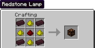 Redstone Lamp Minecraft 18 by Change The Redstone Lamp Recipe Suggestions Minecraft Java