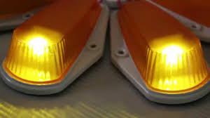 100 Truck Marker Lights 5 Pieces Classic Amber Cab Roof Running Lamps For Or SUV