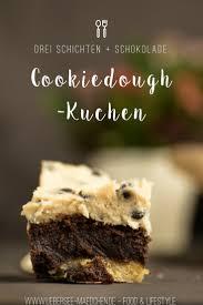 cookiedough kuchen mit brownie schicht