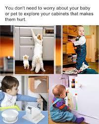 Childproof Cabinet Locks No Screws by 10 Pcs Magnetic Cabinet Locks Safety Baby Set 10 Locks 2 Keys
