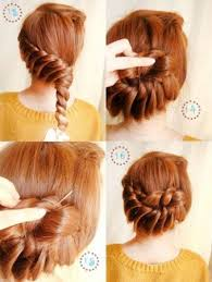 Elegant Twist Updo DIY Tutorial With Step By Instructions And