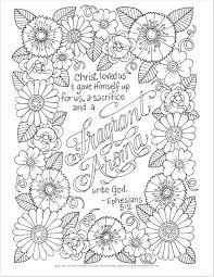 Full Image For Bible Verse Coloring Pages Kjv Colouring Adults Free Scripture
