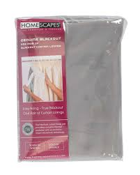 Light Blocking Curtain Liner by Thermal Blackout Interwoven Curtain Lining Pair Homescapes