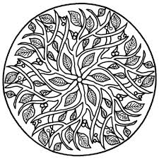 Coloring Pages Mandala Printable Pdf Free Online Advanced Download Pictures