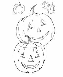Pumpkin Color Pages Printable