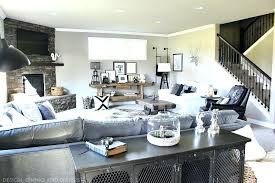 Modern Family Room Rustic Ideas Uk