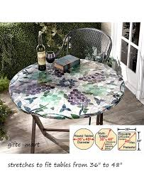 Round Patio Tablecloth With Umbrella Hole by Great Popular Round Patio Tablecloth Property Designs Outdoor