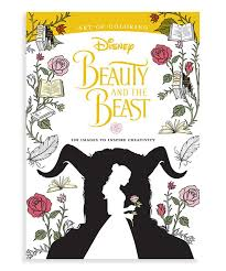 Disney Princess Beauty And The Beast Coloring Book