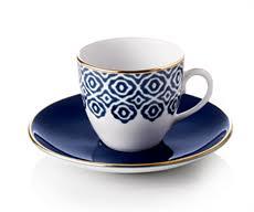Set Of 4 Selamlique Turkish Coffee Cups