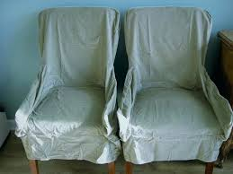 Dining Armchair Slipcover Slipcovers 2 New Pottery Barn Short Velvet Sage Green Room Chair Stretch Uk