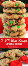 Rice Krispie Christmas Trees Recipe by M U0026m Rice Krispie Christmas Cookies Two Sisters Crafting