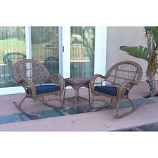 Outdoor Jeco Santa Maria 3 Piece Wicker Rocker Chat Set With ... Willow Twill Fabric Eiffel Beige Rocking Chair By Leisuremod Bentwood Stock Photos Asta Recline Comfy Recliner From Mocka Nz Chairs Patio The Home Depot Brylanehome Roma Allweather White Antique With Cane 3 Outdoor Swivel Glider Set Tikkawalacom Childs Lincoln Rocker I Refinished And Recaned It Amazoncom Blxcomus Garden Three Maya Vintage Used For Sale Chairish Lloyd Flanders High Back Wicker Porch